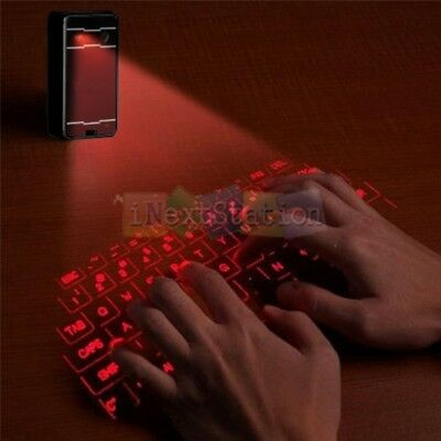 Ultra-Portable Full-Size Virtual Laser Keyboard Mouse Bluetooth for Android IOS