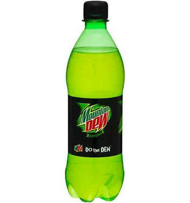 Mountain Dew Energised Soft Drink 600ml x 24