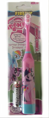 My little pony  Battery power toothbrush 6+ Soft Ideal stocking filler present