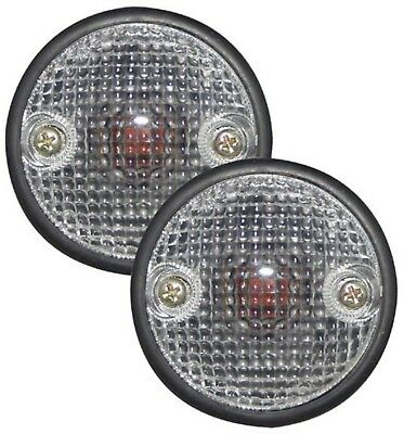 Mitsubishi Pajero & Montero (92-97) Side Indicator Repeaters - Clear