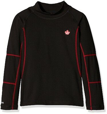 (FR : 6A (Taille Fabricant : 6A), Black) - Northland Tobi Technical Top Child,
