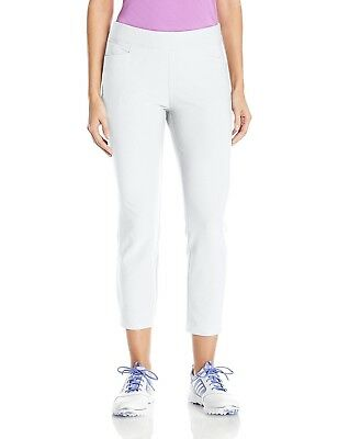 (X-Small, White) - adidas Golf Women's Ultimate Adistar Ankle Pants