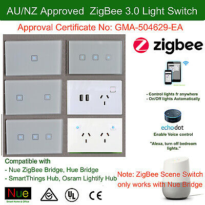 AU Standard Smart ZigBee 3.0 Socket for Wireless Home Automation Google Home