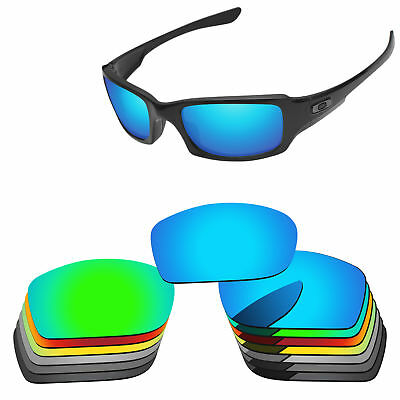 PapaViva Polarized Replacement Lenses For-Oakley Fives Squared Sunglasses