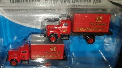 Pack Of 2 Mini Metals 1:160 N Scale 1954 International R-190 A&P Delivery Vans