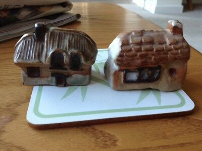 Tremar Pottery Thatched Cottage Made In Cornwall Circa 1970'S