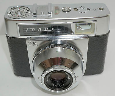 Zeiss Ikon Tenax Automatic.  Clean, Operating, but....