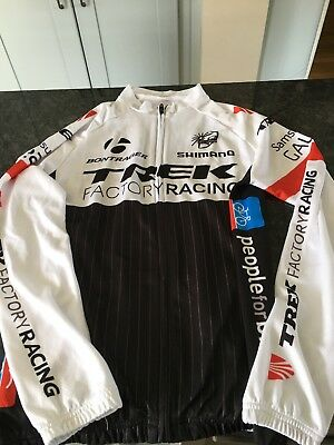 Men's Size Medium Long Sleeve Trek Cycling Jersey