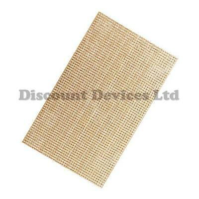 91x45mm Pre Drilled Copper Prototype IC`s PCB Stripboard Printed Circuit Board