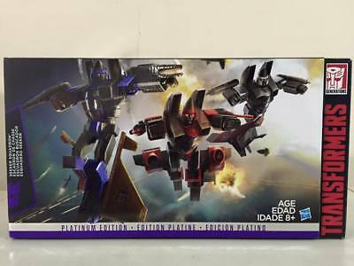 Transformers - Platinum Edition - Decepticon Seeker Squadron - G1 Reissue 3 Pack