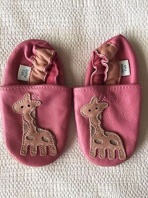 Dotty Fish Leather Baby Shoes 12-18months