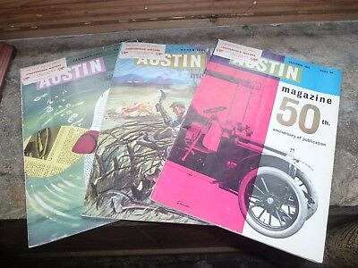 The Austin Magazine - 3 Issues from 1961