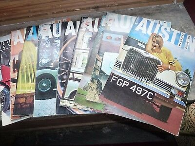 The Austin Magazine - 9 issues from 1966