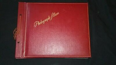 VINTAGE 1950's BLACK & WHITE PHOTO ALBUM!! 100's of Photographs!!