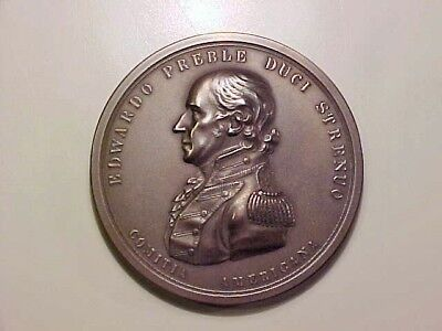 U.s. Mint Medal To Captain: Edward Preble, War Of 1812