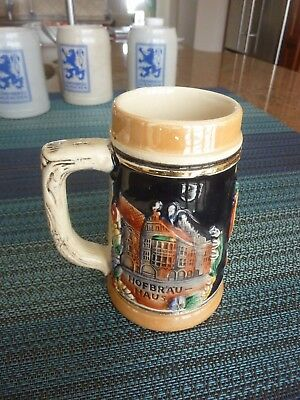 Small German Hofbrau Haus Munchen Beer Stein ~ 0.25 L
