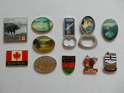 One Selected Metal Souvenir Fridge Magnet from Canada
