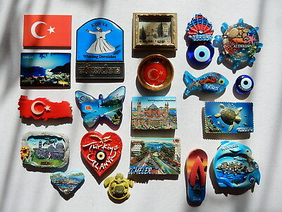 One Selected Souvenir Fridge Magnet from Turkey
