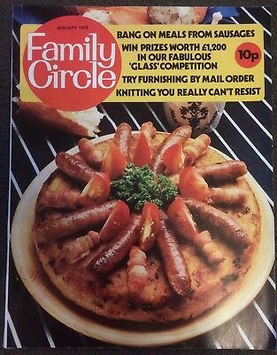 Family Circle January 1973 Vintage Magazine