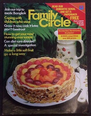 Family Circle June 1978 Vintage Magazine