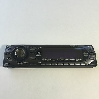 Sony CDX-GT705DX CD Player/MP3 In Dash Receiver STEREO FACEPLATE ONLY!!!