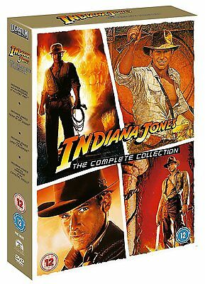 Indiana Jones The Complete Ultimate Collection 1-4 New & Sealed DVD Box Set
