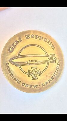 Graf Zeppelin DL-127 Landing Crew • Lakehurst badge
