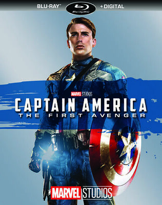 Captain America: The First Avenger (2017, Blu-ray NEW)