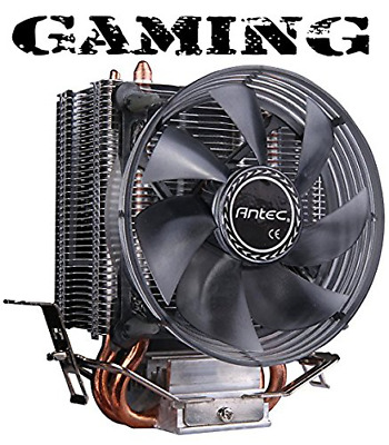 Antec A30 Dual Heatpipe Intel/AMD CPU Cooler - Black
