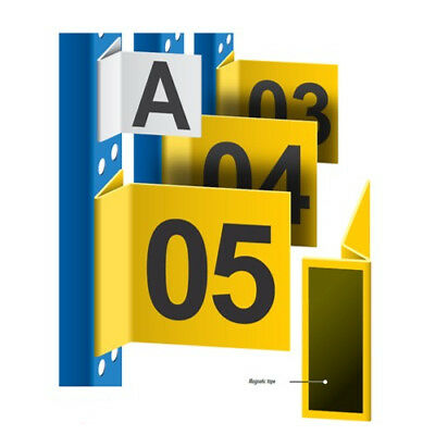Magnetic Location Signs - Perfect for Warehouse Location and Bay Identification