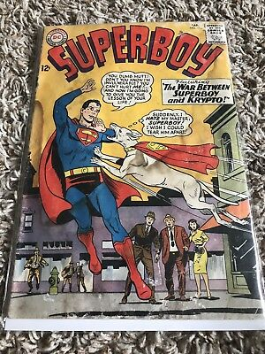 SUPERBOY #118 War with Krypto! DC Comic Book