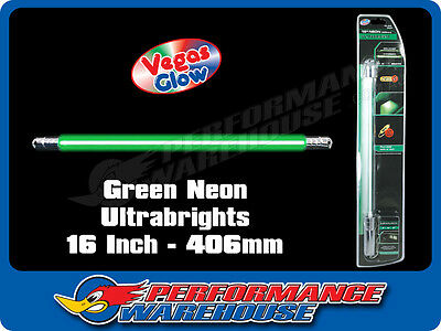 Vegas Glow Ultrabrights 16 Inch Neon Green Pulses To Music Car Ute Boat