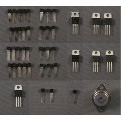 Transistor Kit – Assortment of BJT, JFET, MOSFET and more.