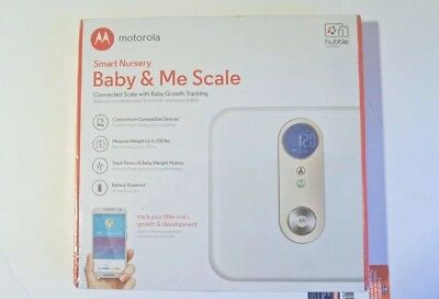 New In Box Motorola Smart Nursery Baby & Me Battery Operated Scale