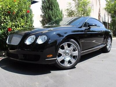 2007 Bentley Continental GT GT Coupe 2-Door CLEAN CARFAX, MULLINER PKG, FINANCING AVAILABLE OAC, BLACK ON BLACK