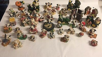 Marys Moo Moos Collectible Lot 45 Pieces