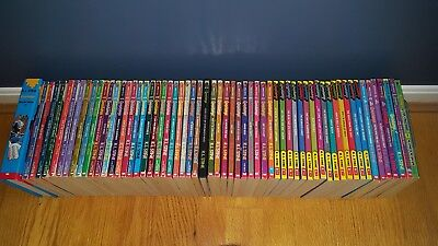 Lot of 61 Goosebumps Books R L Stine Original Series, Give Yourself GB well-read