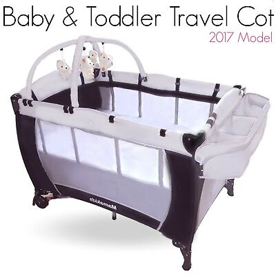 10 x BRAND NEW Baby Travel Cot Portable Portacot Foldable Playpen Toddler Cot