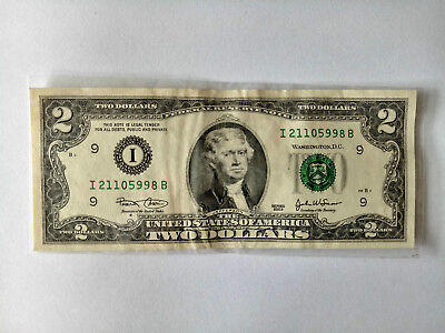 IT's U.S Two dollars in The Great person.