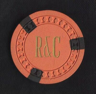 R & C - Rigdon & Co. - Illegal Gambling Chip -  Salesman Sample - Cincinnati, Oh