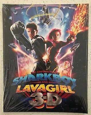 The Adventures of Sharkboy and Lavagirl in 3-D lobby card set (11x4) **SEALED**