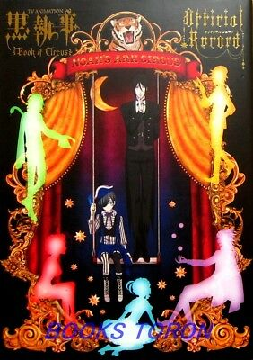 Black Butler Book of Circus Official Record /Japanese TV Anime Illustration Book