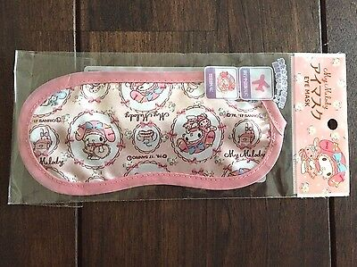 F/S SANRIO My Melody Eye Mask Pink Ribbon Dream Kawaii Fashionable from Japan