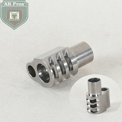 1911 Mil-Spec Full Size .45 ACP Stainless Steel Muzzle Brake Compensator