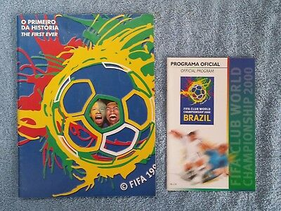 2000 - Club World Cup Tournament Programmes - Two Editions