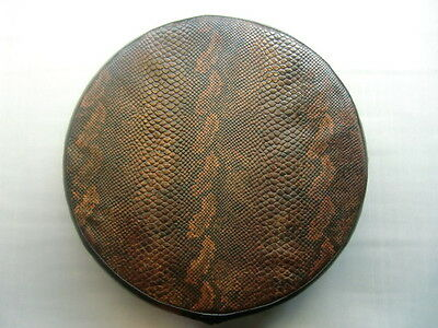 Brown Snake Skin Scooter Wheel Cover (other colours available)