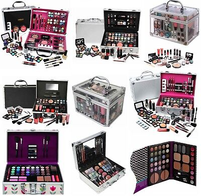 Vanity Case Girls Make Up Beauty Cosmetic Sets Gift Travel Carry Box  Xmas Gift