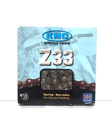 "KMC Z33 5//6Spd Multi-Speed CHAIN 1//2/""x 3//32/"" x 116links Brown 0373"