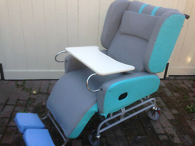 """PRIDE Air Chair"" Princess pressure care versitile reclining mobility Chair/Bed"