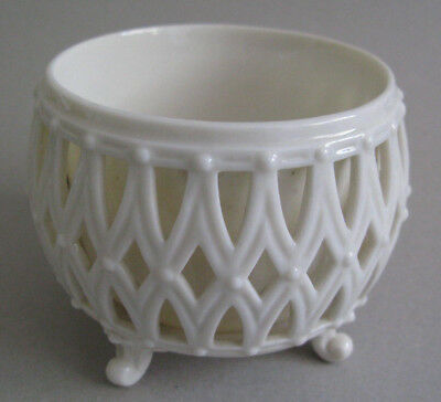 Rare Belleek pot pourri 1st black mark